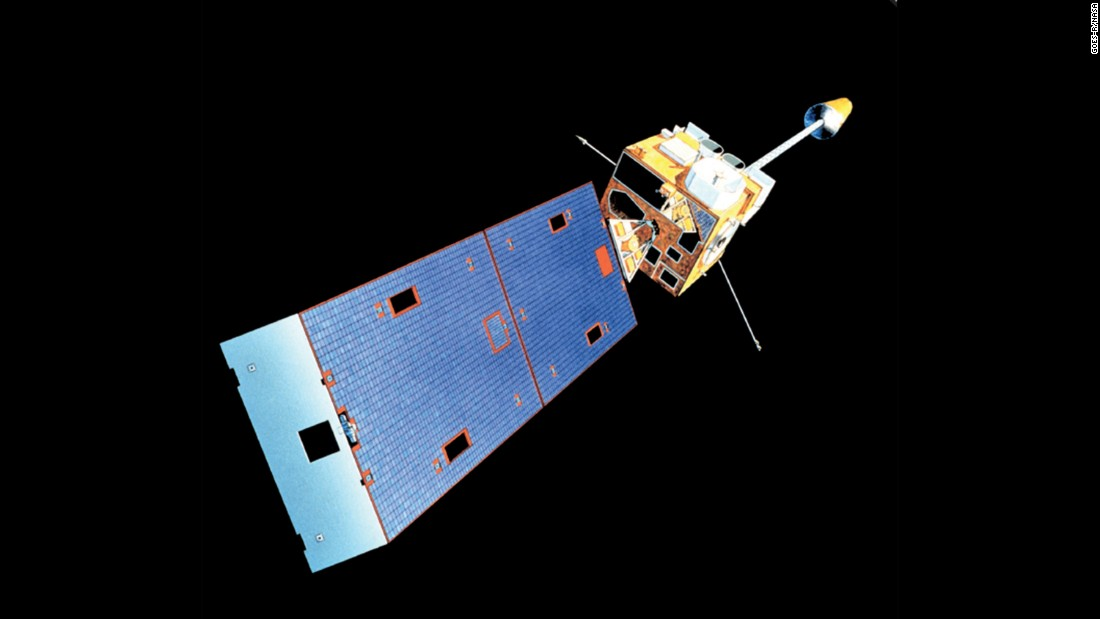In 1994, the next edition of GOES satellites (I through M, or 8-12) had improved image quality, in resolution as well as stability. Three-axis stabilization of the spacecraft kept the satellite pointed at the same spot on Earth.