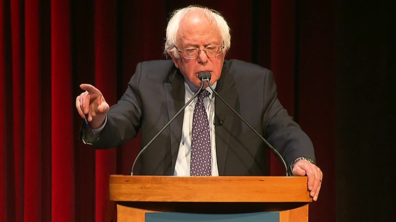 Sanders: Democrats will work with Trump if ...