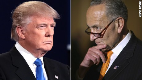 Trump and Schumer came close to a deal. Then it fell apart