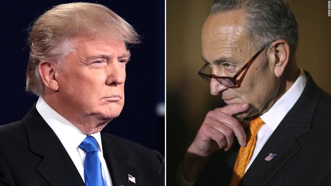 Trump attacks Schumer over North Korea