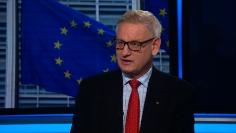 Bildt: It's the end of the West as we know it