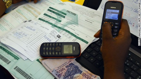 Mobile phone payments have become increasingly popular not just in Zimbabwe, but other African countries too.