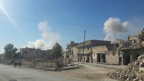 The Syrian regime's airstrikes are hitting eastern Aleppo once more after a three-week lull.