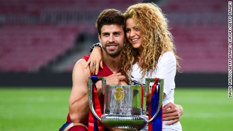 Pique and Shakira set up a meeting with Rakuten chief executive Hiroshi Mikitani.