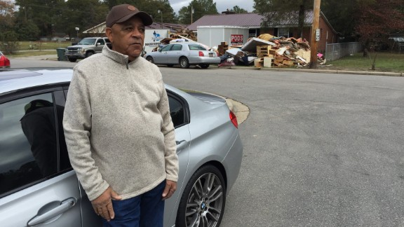 James Defreece, 81, lost his home of more than 40 years but considers himself blessed.