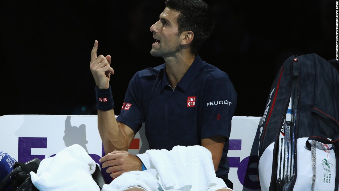 If the Serb's heavyweight clash with Raonic earlier in the week had been one of the matches of the tournament, this was less of a spectacle. The umpire handing Djokovic a time violation drew one of the biggest crowd reactions of the afternoon.