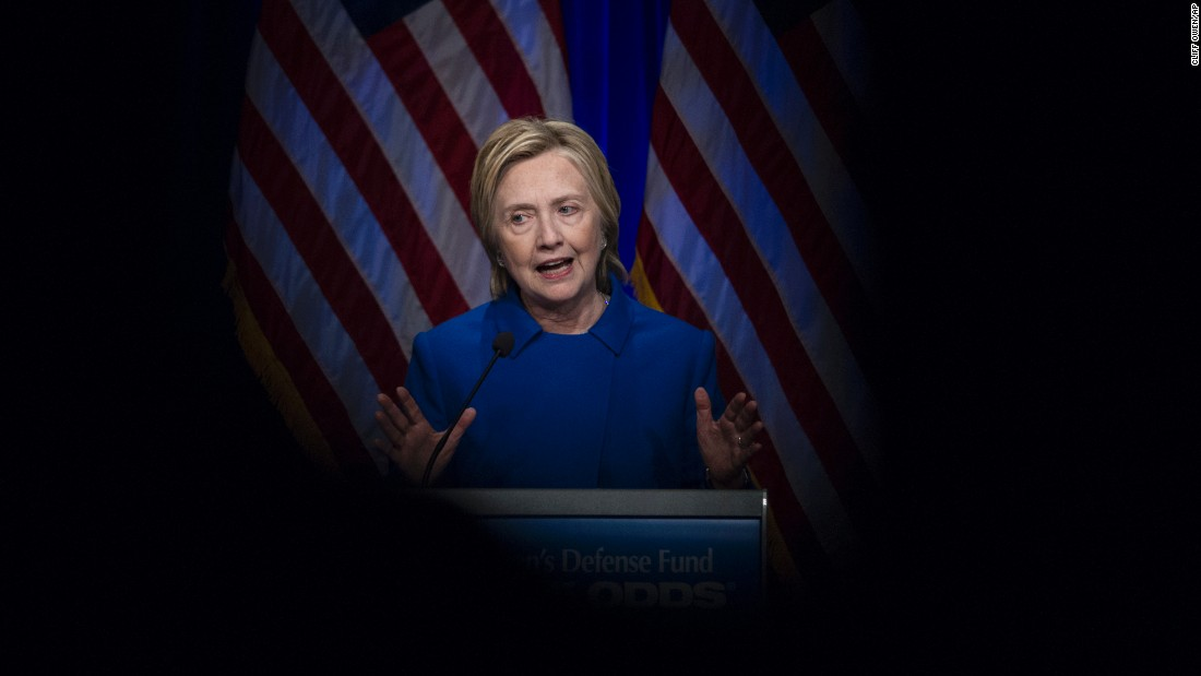 "Former presidential candidate Hillary Clinton speaks at the Children's Defense Fund's ""Beat The Odds"" Gala in Washington on Wednesday, November 16. It was <a href=""http://www.cnn.com/2016/11/16/politics/hillary-clinton-childrens-defense-fund-speech-post-election/index.html"" target=""_blank"">her first public speech </a>since conceding the election to Donald Trump. ""I will admit, coming here tonight wasn't the easiest thing for me,"" she said. ""There have been a few times this past week where all I wanted to do was curl up with a good book and our dogs and never leave the house again."" But Clinton did not wallow in defeat during the speech, turning instead to what she will focus on going forward -- and the impact her mother had on her life."