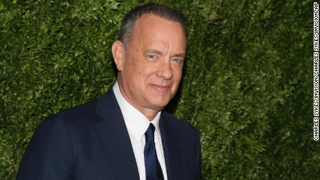 Tom Hanks attends The Museum of Modern Art Film Benefit tribute to Tom Hanks on Tuesday, Nov. 15, 2016, in New York. (Photo by Charles Sykes/Invision/AP)