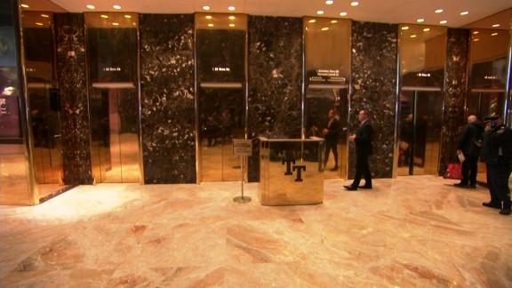 Trump Tower elevators