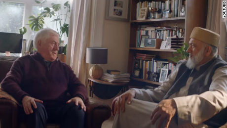A priest and an imam bond -- and send each other matching gifts -- in this Amazon spot.