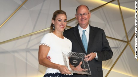 WTA chief plots new ways to grow women's game