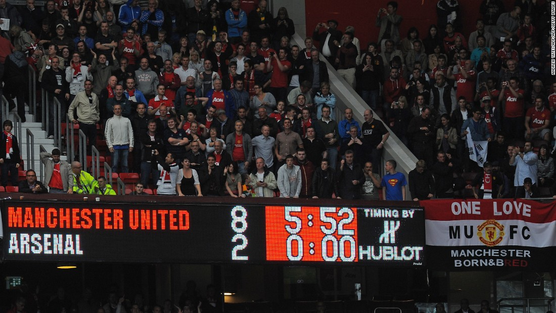 Arsenal's 2011 trip to Old Trafford ended in one of Wenger's most humiliating defeats as United won 8-2, led by Wayne Rooney's sixth career hat-trick for the club.