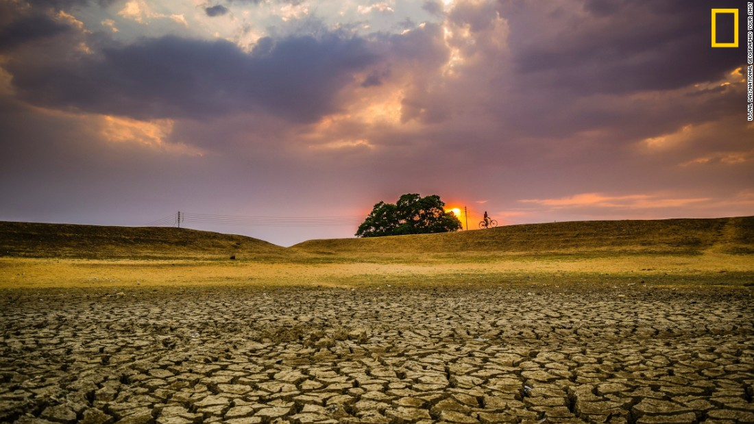 "Photo: Ujjal Das, India: ""The pic was taken in Puruliya District of West Bengal. This is a drought-prone area and in summertime the whole district becomes dry creating water problem."" <em>Via National Geographic Your Shot</em>"