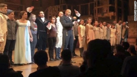 Pence: 'I wasn't offended' by message of 'Hamilton' cast