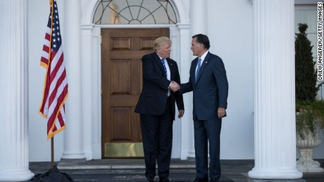 Romney and Trump spoke following trip to Utah, Conway says