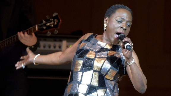Sharon Jones, the powerful lead singer of the Dap-Kings, died November 18 after a battle with pancreatic cancer, manager Alex Kadvan told CNN. She was 60.
