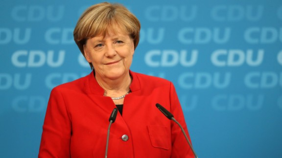 German Chancellor and Chairwoman of the German Christian Democrats (CDU) Angela Merkel  announced she will run for a fourth term in office in federal elections scheduled for next year.