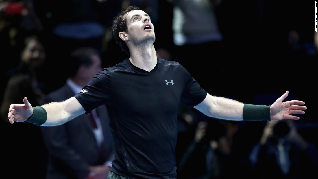 "His longtime friend, Andy Murray, became the first man other than Federer, Djokovic or Rafael Nadal to <a href=""http://edition.cnn.com/2016/11/20/tennis/murray-djokovic-atp-finals-world-no-1/"">end the season as No. 1</a> since 2003."