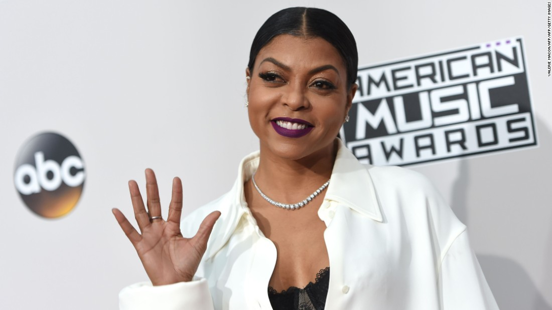 "Among the celebrity presenters for the gala is actress Taraji P. Henson, star of the upcoming film ""Hidden Figures"" and Fox's hit show ""Empire."""