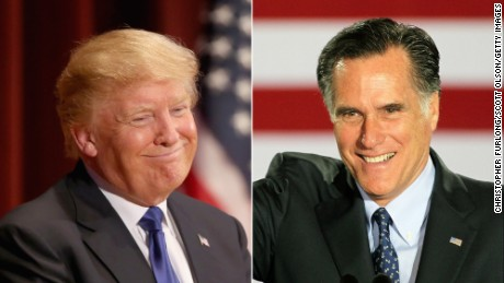 From foe to friend: Romney a possible Trump pick