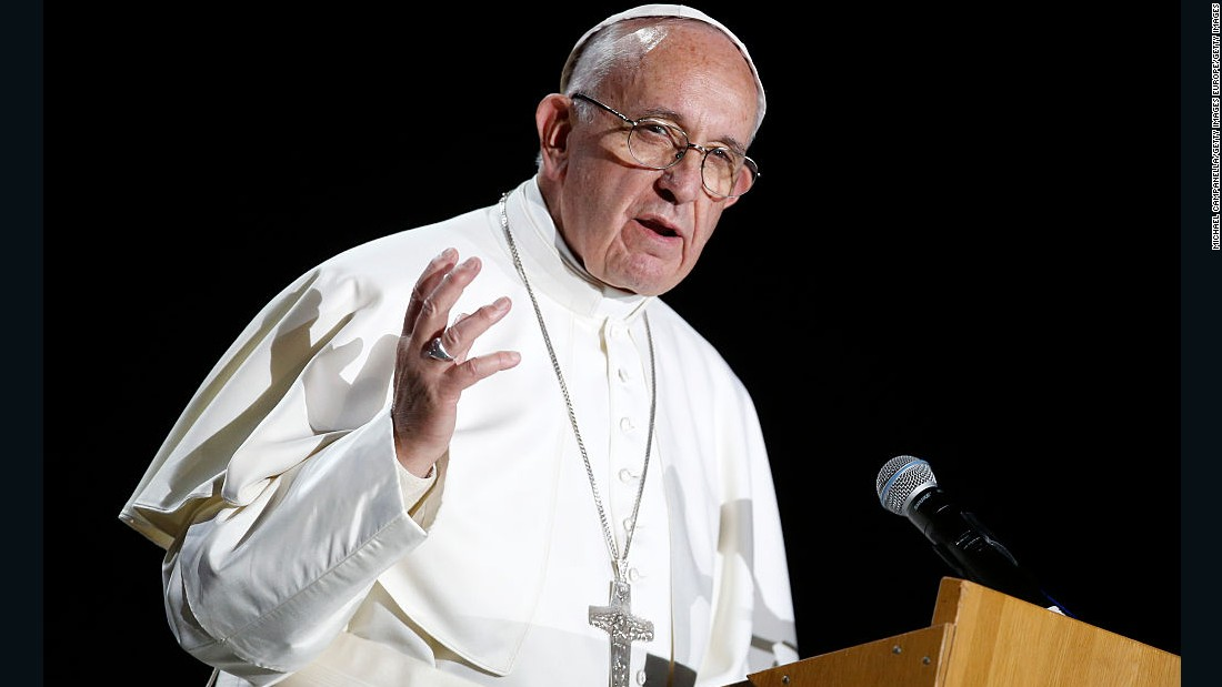 Pope Francis says abortion to avoid birth defects is similar to Nazi crimes