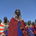 maasai woman singing