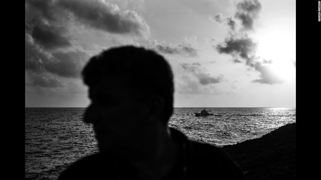"Photographer Stefano Schirato shadowed Bartolo. He learned about the doctor through the Oscar-nominated documentary ""Fire at Sea."""