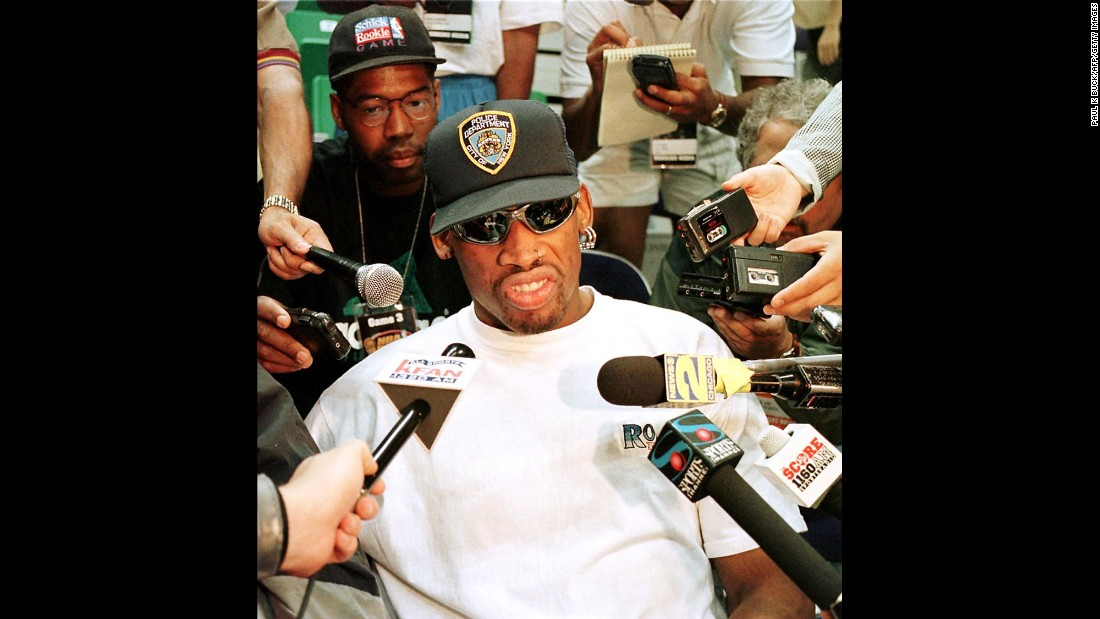 Rodman was frequently in the headlines during his career, and not always for good reasons. He often clashed with officials, receiving technical fouls and suspensions, and in 1997 he was suspended for 11 games after kicking a cameraman in the groin. In 2000, he was required to attend an alcohol-treatment program after pleading guilty to driving under the influence.