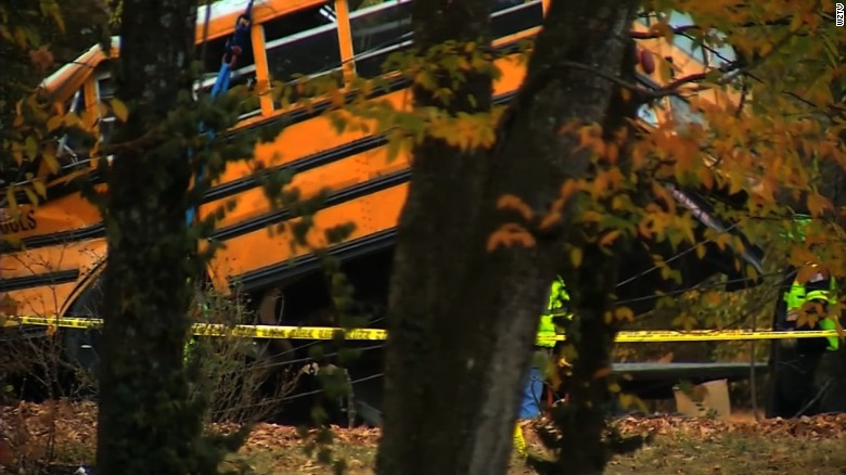 Bus crash 911 call: 'I can see an arm moving'