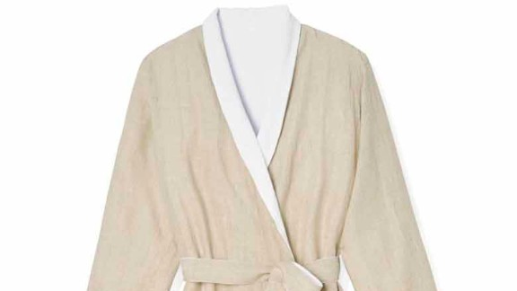"""The gift of comfort is always the way to go. Oprah swears by this Coyuchi Linen Terry Robe. It's perfect for lounging around your home to Netflix and chill. <a href=""""http://www.oprah.com/gift/Oprahs-Favorite-Things-2016-Full-List-Coyuchi-Linen-Terry-Robe?editors_pick_id=65969"""" target=""""_blank"""" target=""""_blank"""">Originally $198, now 20 percent off with code OPRAH</a>"""