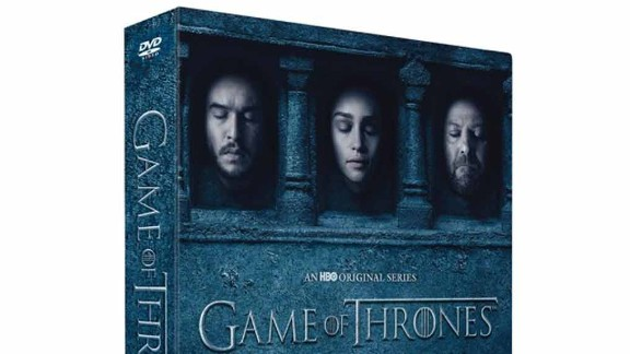 """For any """"Game of Thrones"""" fan this is the perfect holiday gift. It's only $45.99, <a href=""""http://store.hbo.com/game-of-thrones-the-complete-sixth-season-dvd/detail.php?p=1043398&v=black-friday-dvds"""" target=""""_blank"""" target=""""_blank"""">click here to buy.</a>"""