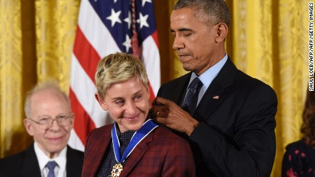 Ellen DeGeneres Medal of Freedom