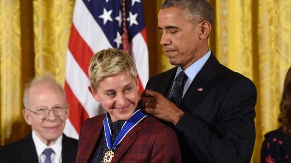 Ellen DeGeneres Medal of Freedom