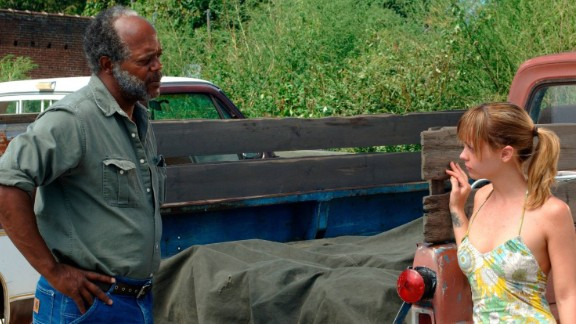 """""""Black Snake Moan"""" : Samuel L. Jackson and Christina Ricci star in this film about a God-fearing blues musician who tries to """"save"""" a troubled young woman. (Netflix)"""