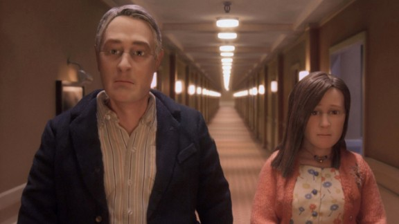 """""""Anomalisa"""" : Charlie Kaufman wrote and directed this stop action animated drama about a customer service expert who meets a shy woman during a convention. (Amazon Prime, Hulu)"""
