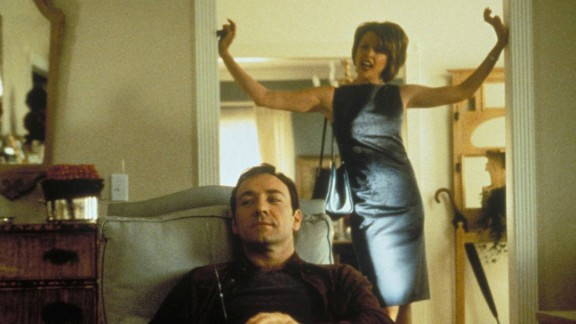 """""""American Beauty"""" : Annette Bening and Kevin Spacey star as a couple navigating life in the suburbs where life is not what it seems. (Hulu)"""