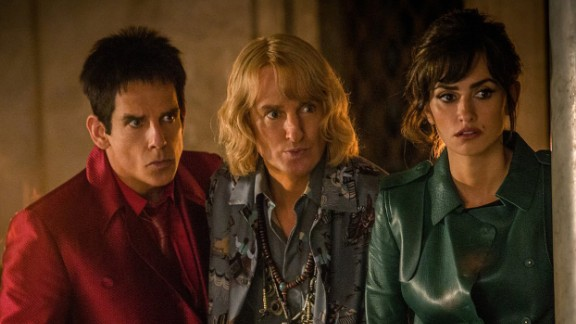 """""""Zoolander 2"""" : Ben Stiller, Owen Wilson and Penélope Cruz remind fans of why they first fell in love with Blue Steel in this 2015 sequel to the 2001 original. (Hulu)"""
