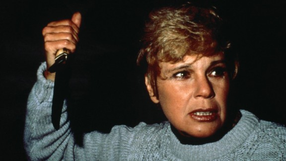 """""""Friday the 13th"""" :  Betsy Palmer stars as Pamela Voorhees in the horror film which launched a franchise. (Hulu)"""