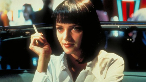 """""""Pulp Fiction"""" : Uma Thurman stars as a crime lord's wife in the Quentin Tarantino directed film. (Hulu)"""