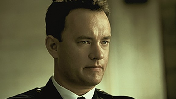 """""""The Green Mile"""" : Tom Hanks stars as a prison guard who meets a special man on death row in this dramatic film based on a short story by Steven King. (HBO Now)"""
