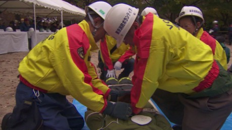 japan disaster drills field pkg_00001321