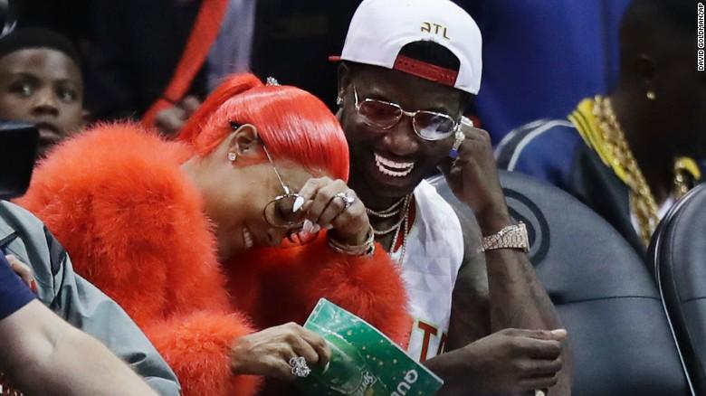 Gucci Mane Proposes At Atlanta Hawks Game Cnn