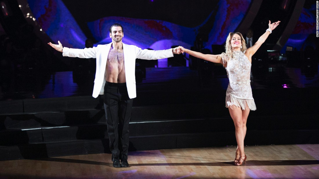 Model Nyle DiMarco and Peta Murgatroyd took home the Mirrorball Trophy for season 22. DiMarco became the first deaf winner.