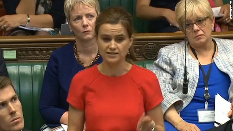 Guilty verdict in killing of British MP Jo Cox