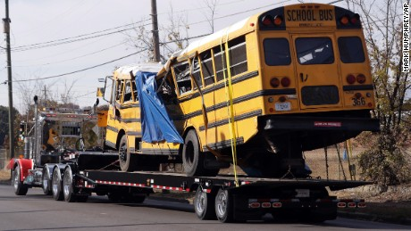 Chattanooga Crash How Common Are Outsourced School Bus Services Cnn