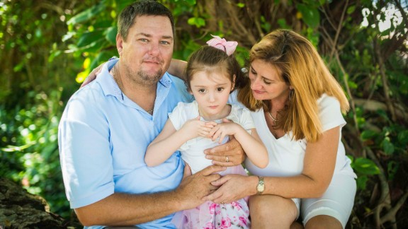 Rich and Kim Muszynski with their daughter, Abby.