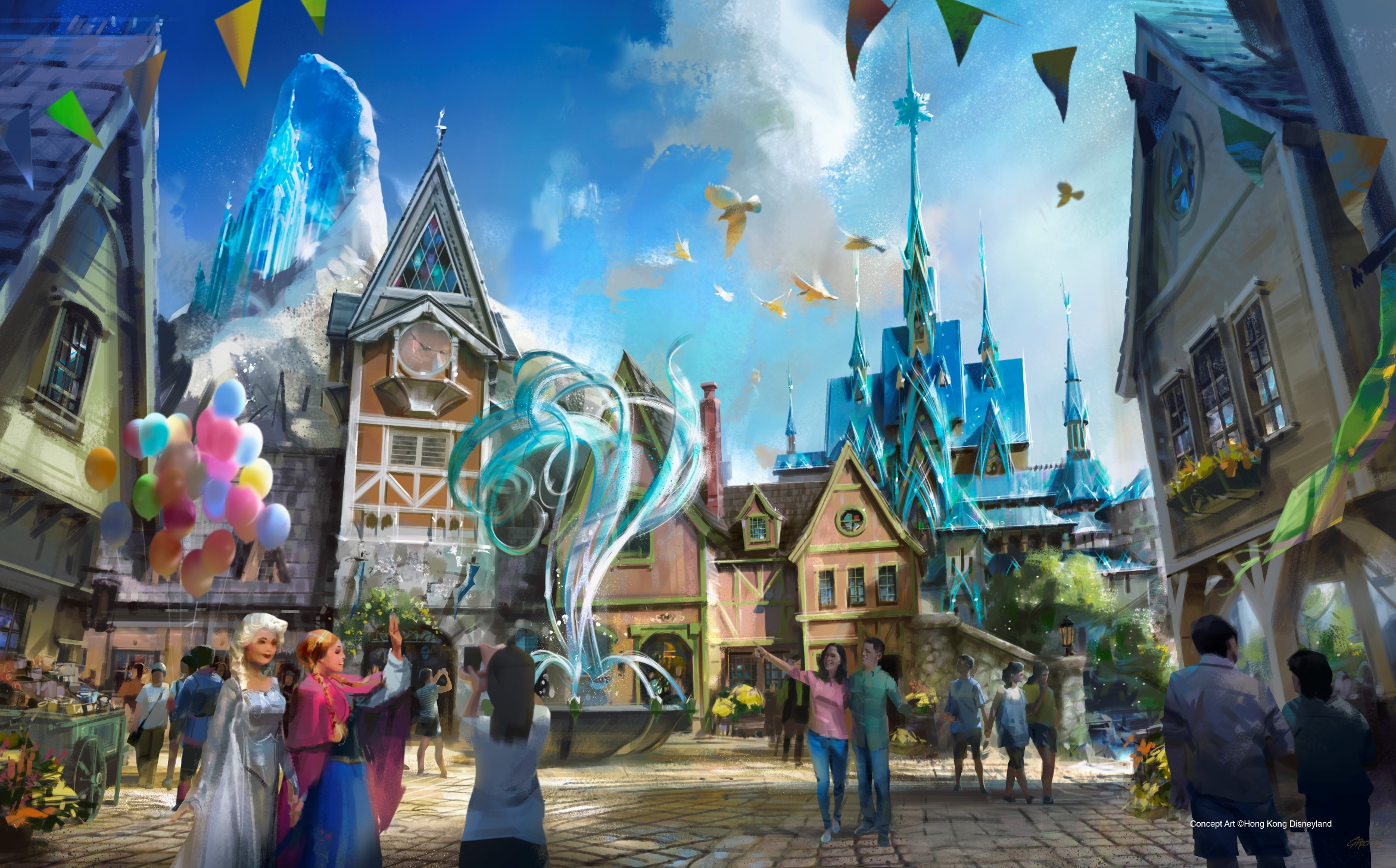 Hong Kong Disneyland Expansion See What S Coming Cnn Travel