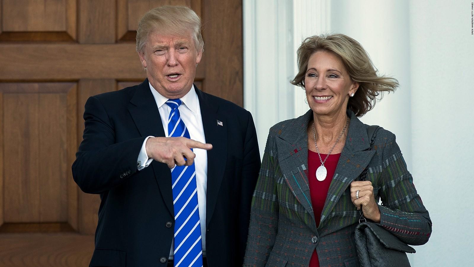 Trumps Education Pick Says Reform Can >> Betsy Devos Picked For Trump S Education Secretary Cnnpolitics