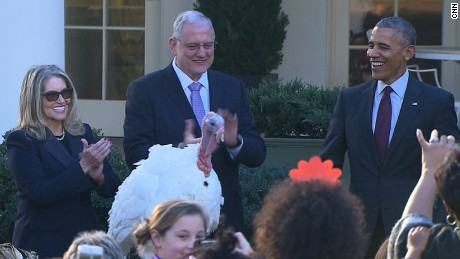 president obama pardons turkey thanksgiving bts_00022509
