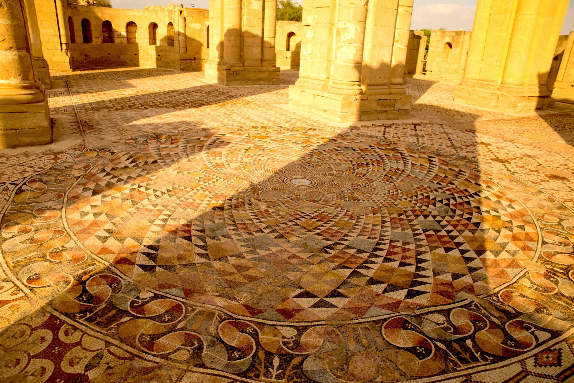 7 million piece mosaic uncovered in Jericho   CNN Travel